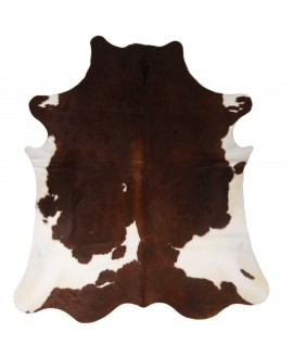 Red & White Spotted Cowhide