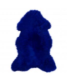 Cobalt Blauw Geverfd Texels Schapenvacht