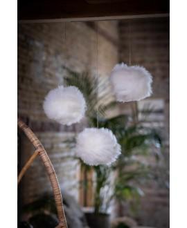 Schapenvacht Sneeuwballen