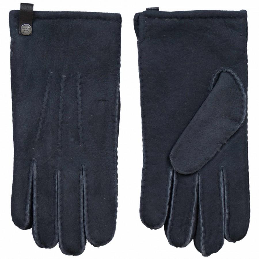 Grijze Lamsvacht Heren Handschoen