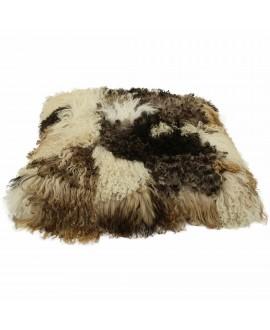 Curly Sheepskin Pillow -...